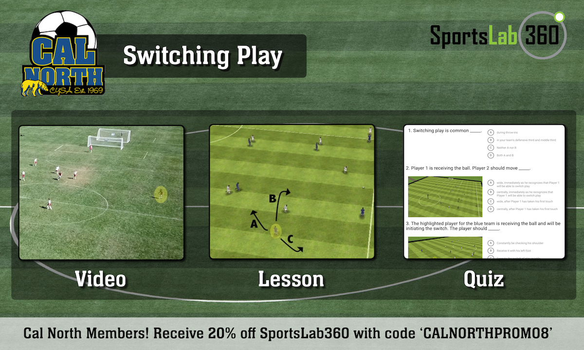 SportsLab360 Cal North September - Switching Play - Module Graphic