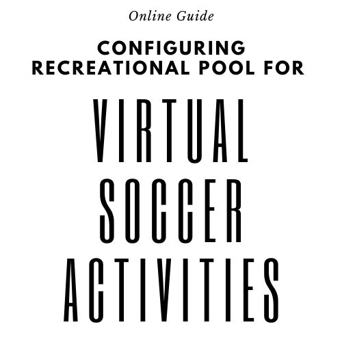 Configuration guide for virtual soccer activities